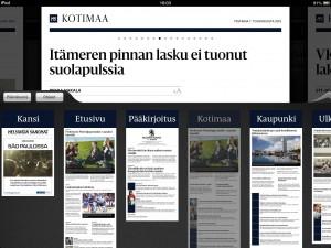 """скріншот з """"Helsingin Sanomat"""""""